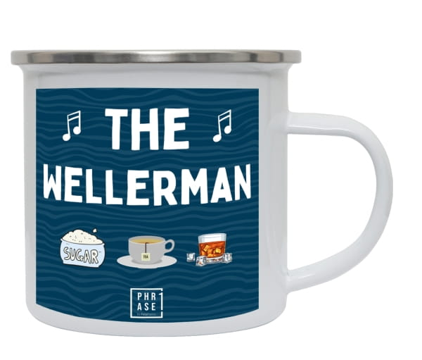 The Wellerman | Emaille Becher