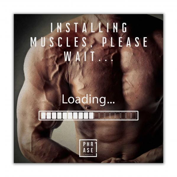 Installing Muscles, please ... | Leinwand