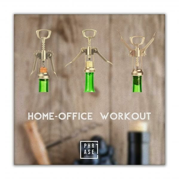 Home-Office Workout   Leinwand