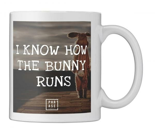 I know how the bunny runs | Tasse