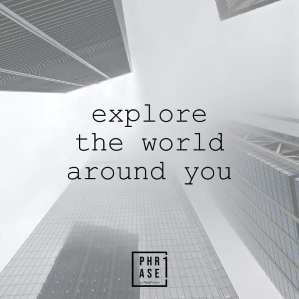 Explore the world around you | Emaille Becher