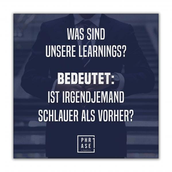 Was sind unsere learnings? ... | Leinwand