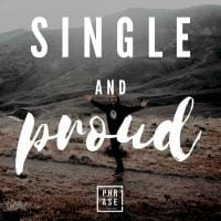Single and proud⠀   T-Shirt
