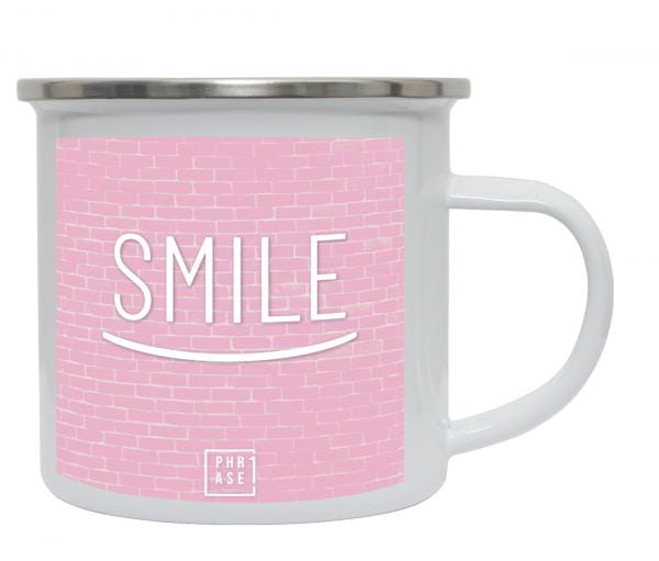 Smile | Emaille Becher