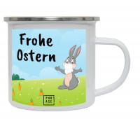 Frohe Ostern 2 | Emaille Becher
