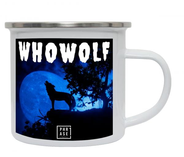 Whowolf   Emaille Becher