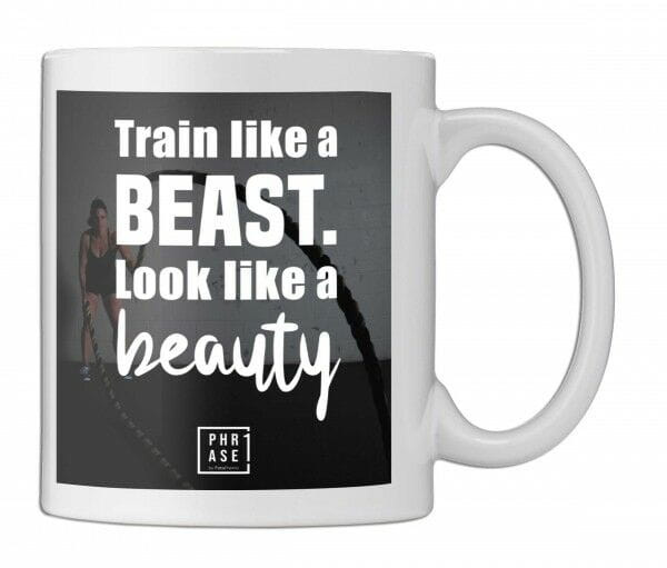Train like a beast. Look like ... | Tasse