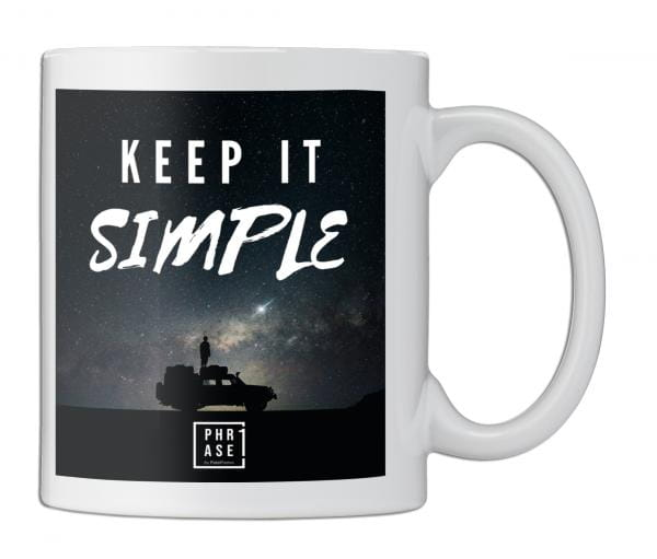 Keep it simple | Tasse