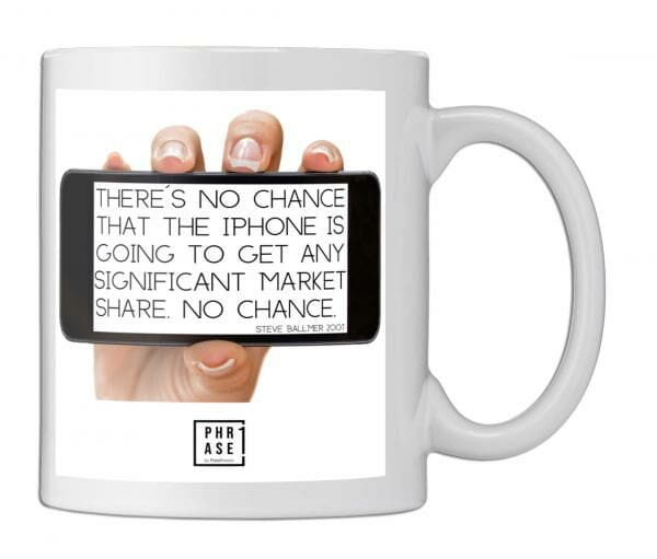 There´s no chance that the ... | Tasse