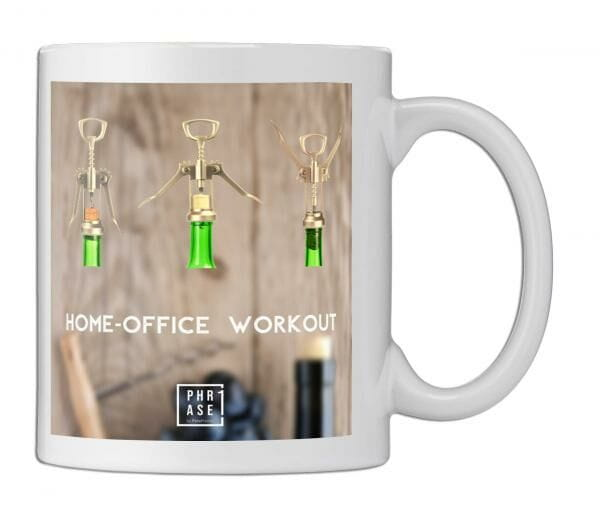 Home-Office Workout   Tasse